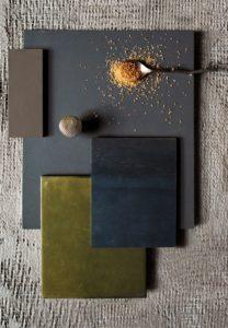 Materiali e colori moodboard