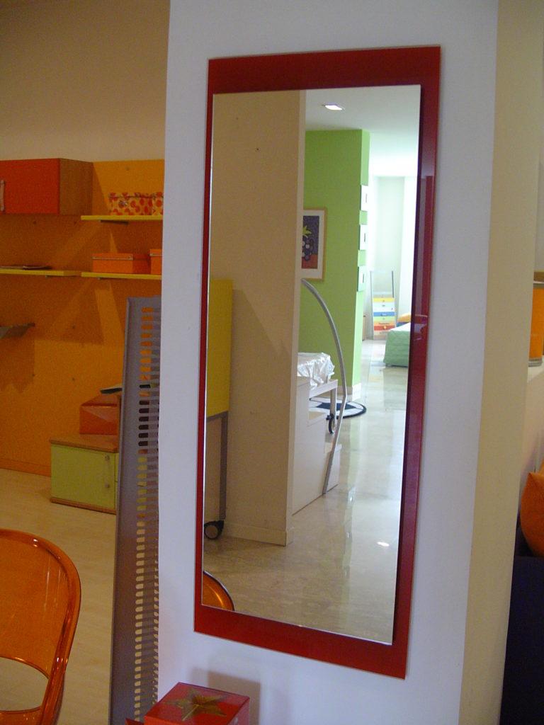 outlet- grandi affari- mobili salvati- castel san giorgio - sa -4 - pezzani specchio h114
