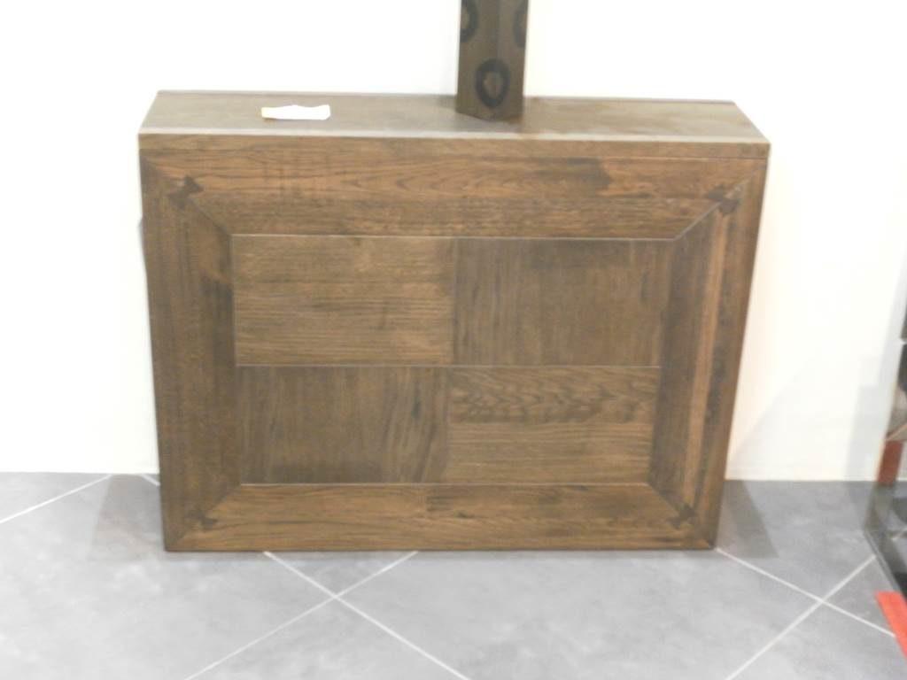 Ditta Altacorte - tavolo consolle massello di rovere da mobili salvati a castel san giorgio