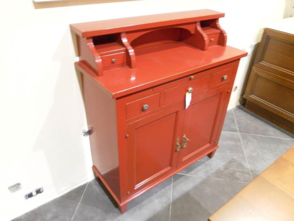 outlet-grandi-affari-mobili-salvati-castel-san-giorgio-sa-5-credenzina-lacca-rosso-bruno-€-600