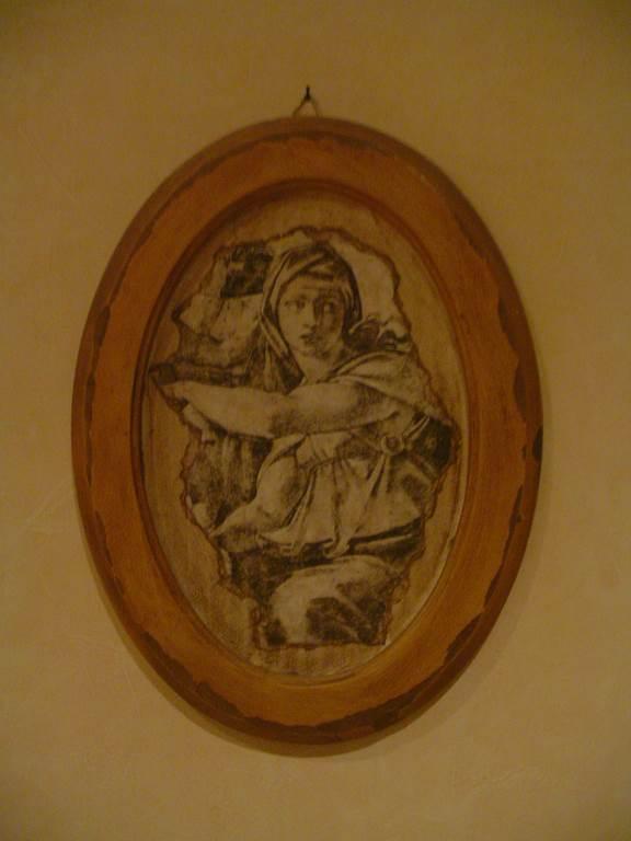 quadretto cornice legno-quadro in outlet da mobili salvati -castel san giorgio -sa-