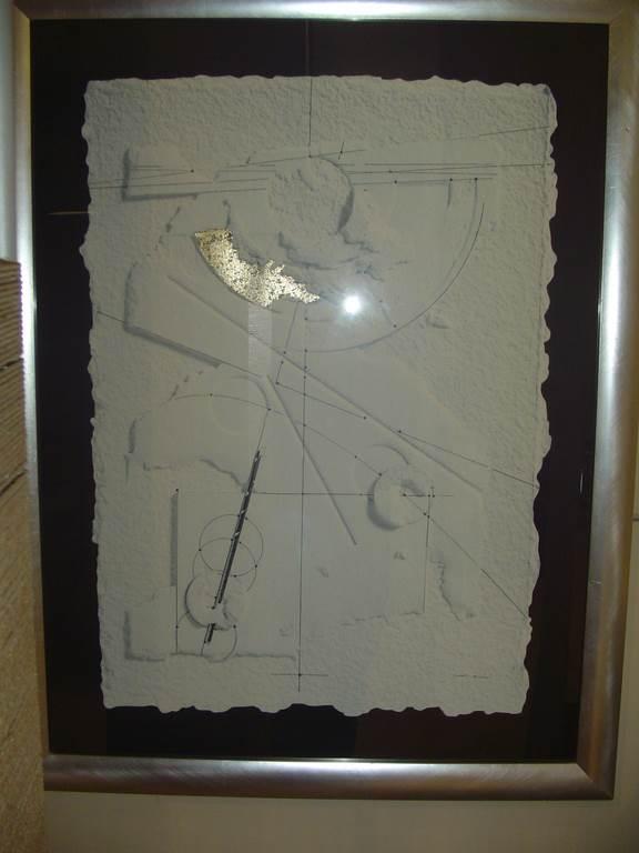quadro rettangolare con cornice argento-quadro in outlet da mobili salvati -castel san giorgio -sa-