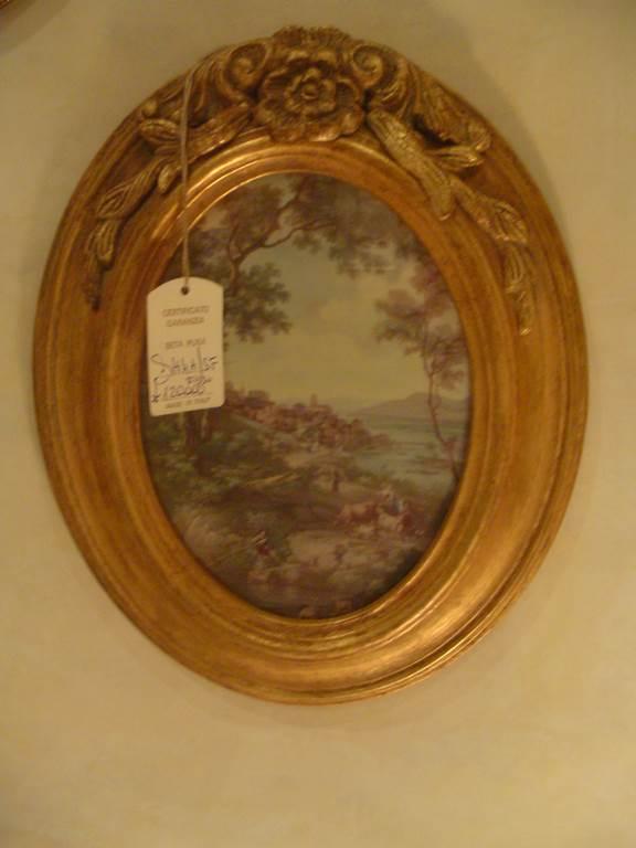 quadretto classico con cornice dorata-quadro in outlet da mobili salvati -castel san giorgio -sa-