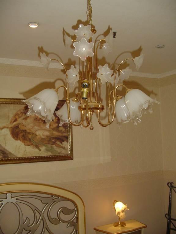 outlet- grandi affari- mobili salvati- castel san giorgio - sa -Irislux sospensione +2 lampade da comodino € 200