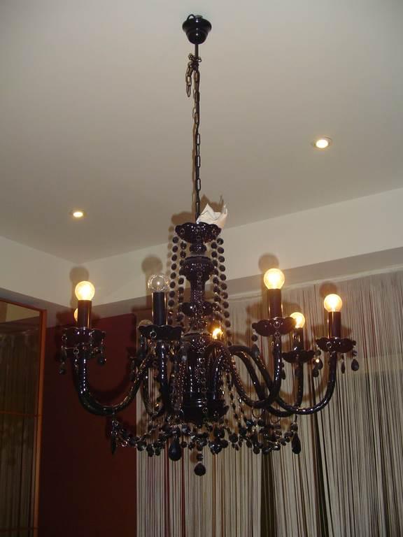 oakom sospensione in vetro nero- in outlet da mobili salvati - a castel san giorgio - salerno