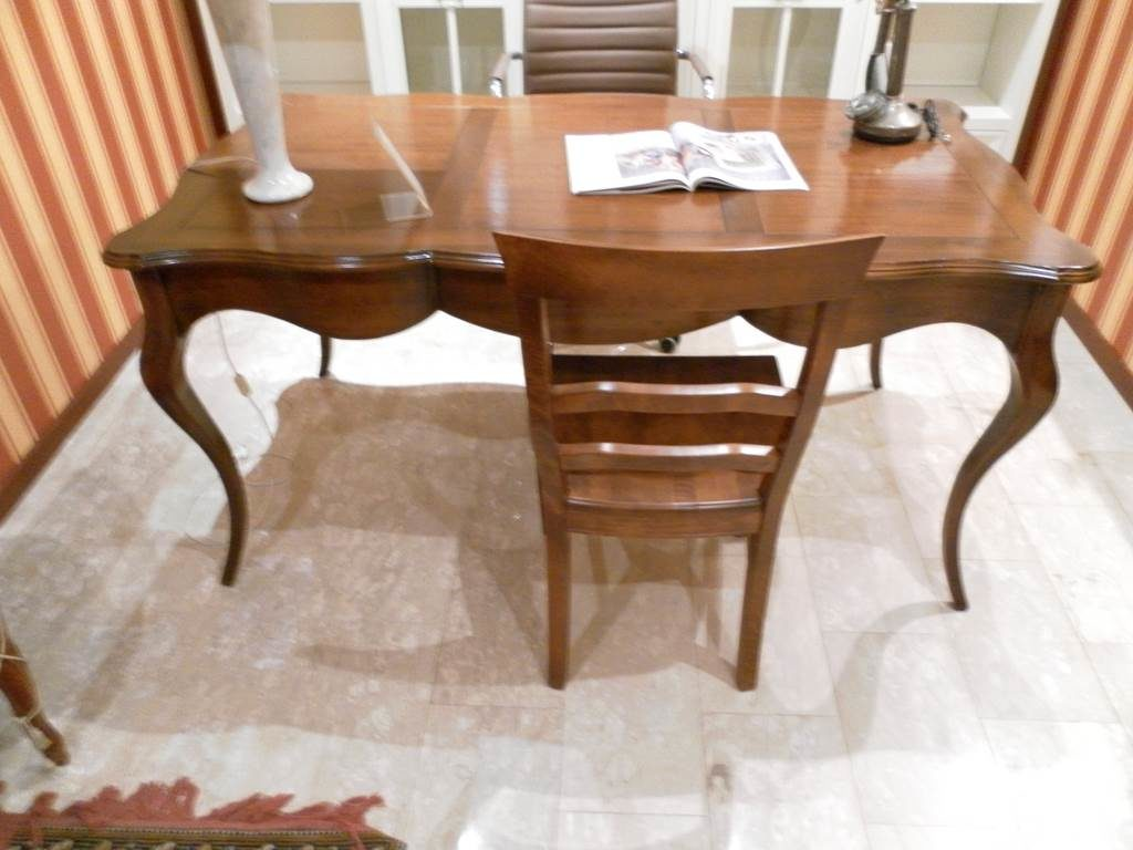 Ditta Altacorte- Scrivania classica-outlet-grandi-affari-mobili-salvati-castel-san-giorgio-sa-Scrivania-legno-classica-€-700