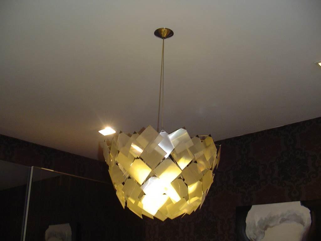 Lampadari Con Bottiglie Di Vetro illuminazione in outlet | mobili salvati - castel san