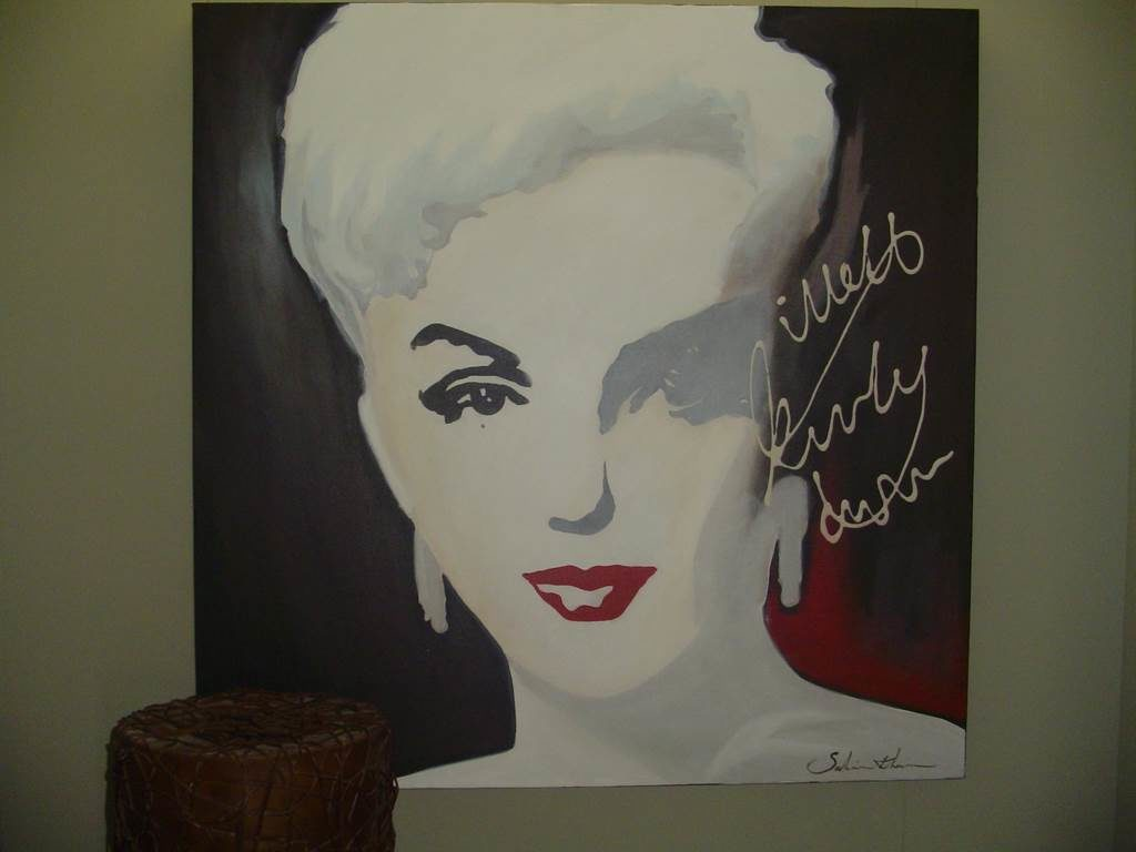 outlet- grandi affari- mobili salvati- castel san giorgio - sa -Quadro Marylin € 70