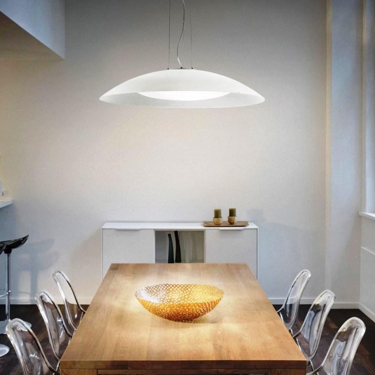 Illuminazione - ideal lux mobili salvati - castel san giorgio. -035727_INS001_LENA_SP3_D64_BIANCO_zoom