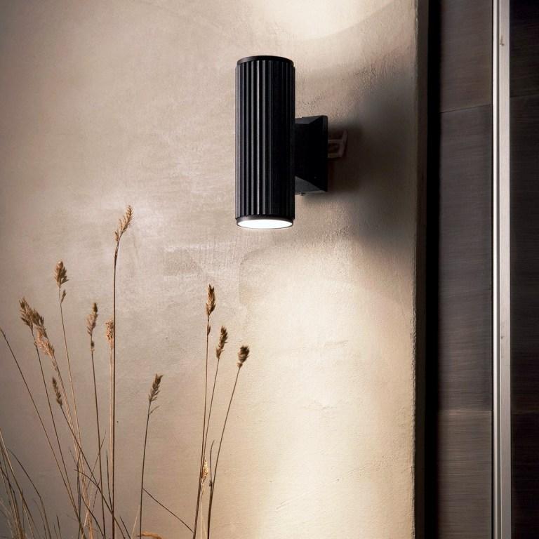 Illuminazione - ideal lux mobili salvati - castel san giorgio. -129433_LOC001_BASE_AP2_NERO_zoom