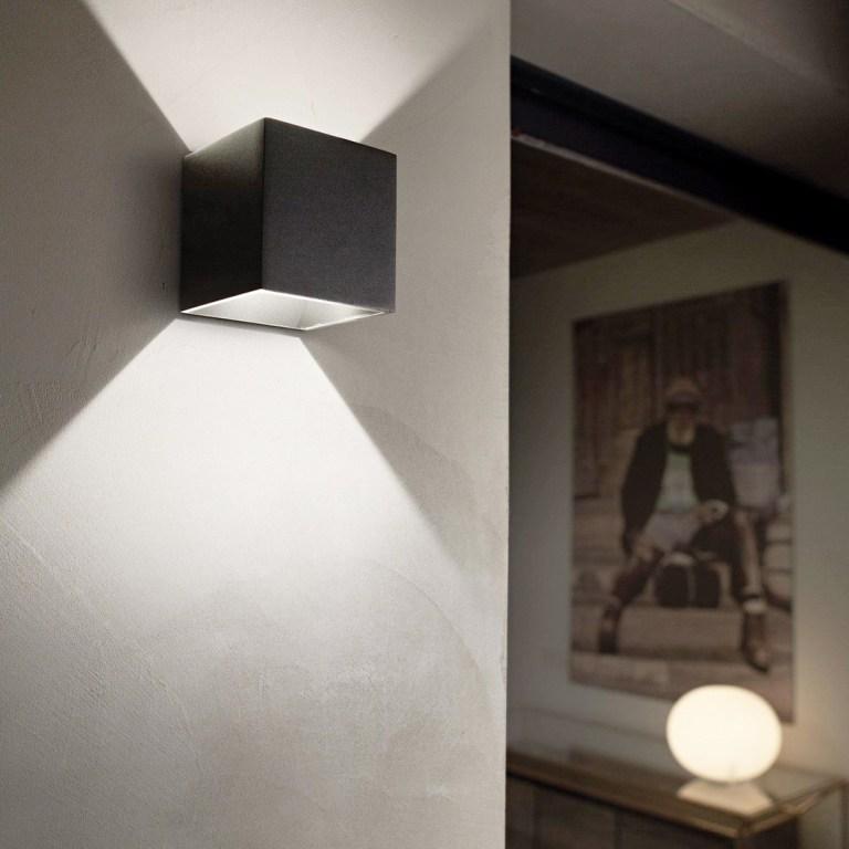Illuminazione -ideal lux mobili salvati - castel san giorgio. -142302_LOC001_RUBIK_AP1_NERO_zoom