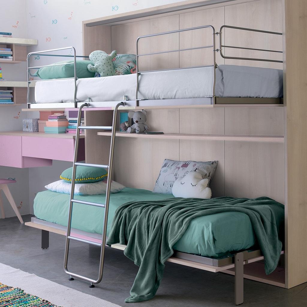 camerette letto salvaspazio castello scomparsa colombini mobili salvati