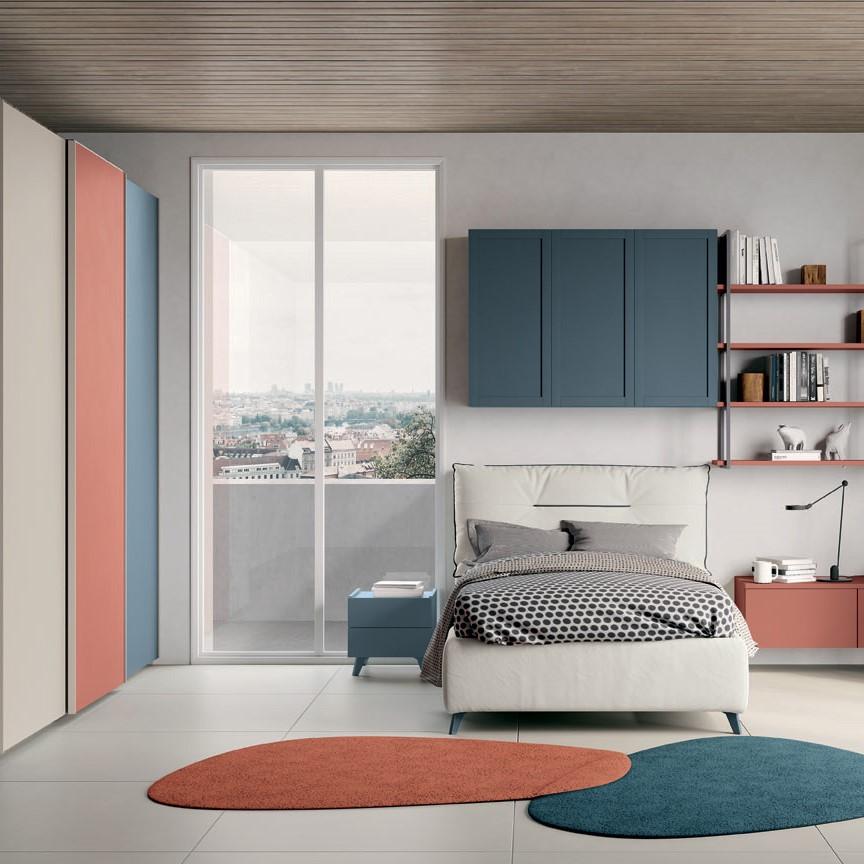 camerette per ragazzi moderne colombini mobili salvati