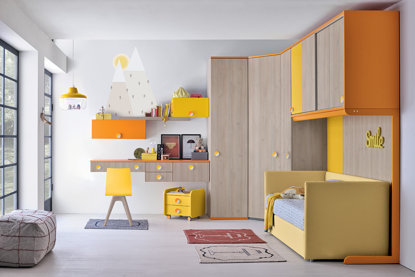 camerette ponte per bambini colombini mobili salvati