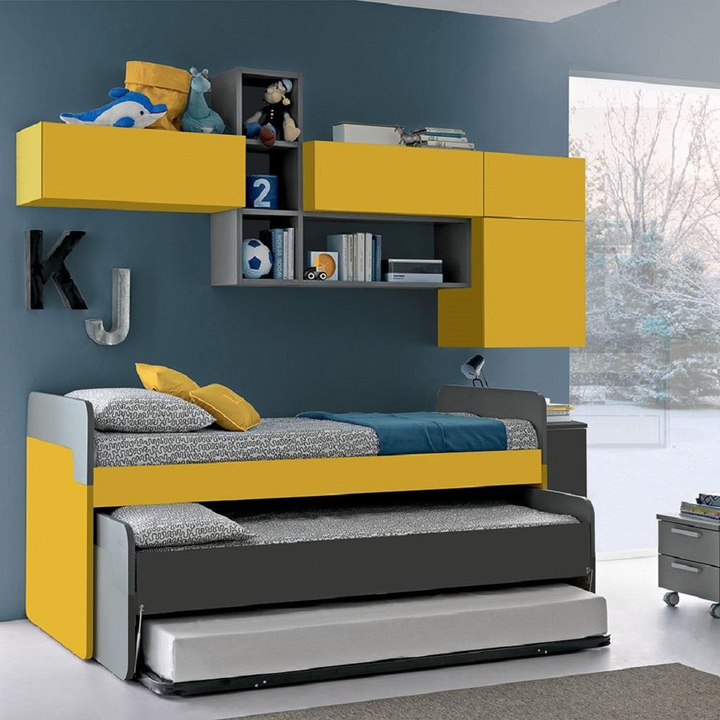 camerette salvaspazio letto estraibile colombini mobili salvati