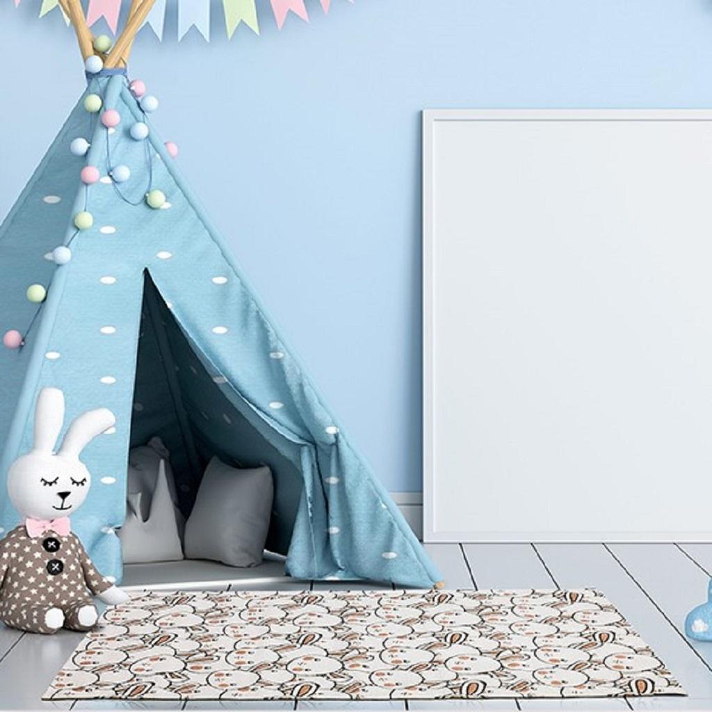 tappeto per camerette lavabile young rabbit sitap mobili salvati